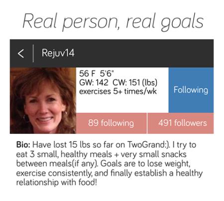 Her bio and goals