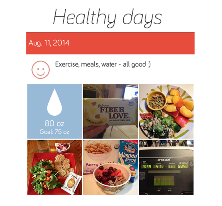 Healthy day, in photos