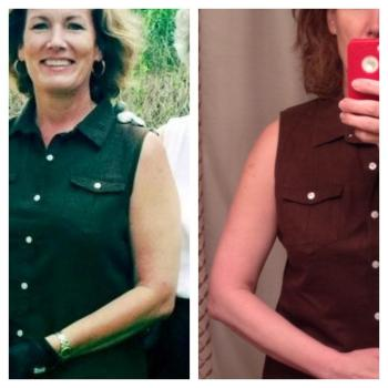 50-year-old woman progress photo